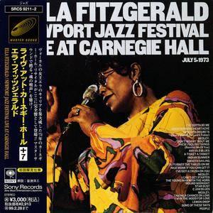 Ella Fitzgerald - Newport Jazz Festival: Live At Carnegie Hall (1973) 2 CD, Japanese Remastered Reissue 1997