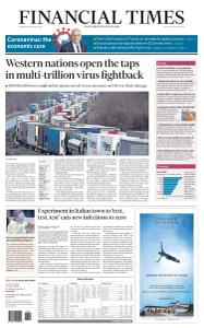 Financial Times USA - March 18, 2020