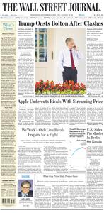 The Wall Street Journal – 11 September 2019