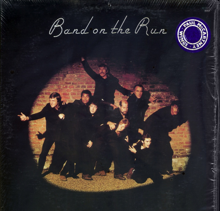 Paul McCartney & Wings - Band On The Run (1973) Original US Pressing - LP/FLAC In 24bit/96kHz