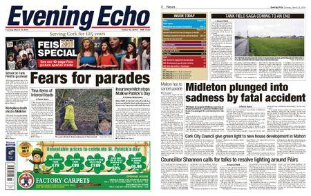 Evening Echo – March 13, 2018
