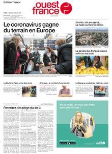 Ouest-France Édition France – 26 février 2020