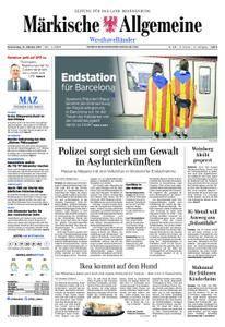 Märkische Allgemeine Westhavelländer - 12. Oktober 2017