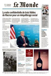 Le Monde du Dimanche 10 et Lundi 11 Juin 2018