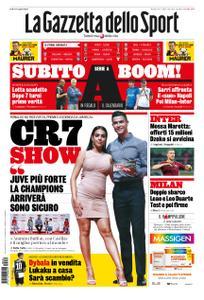 La Gazzetta dello Sport Roma – 30 luglio 2019