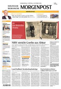 Solinger Morgenpost – 03. Oktober 2019
