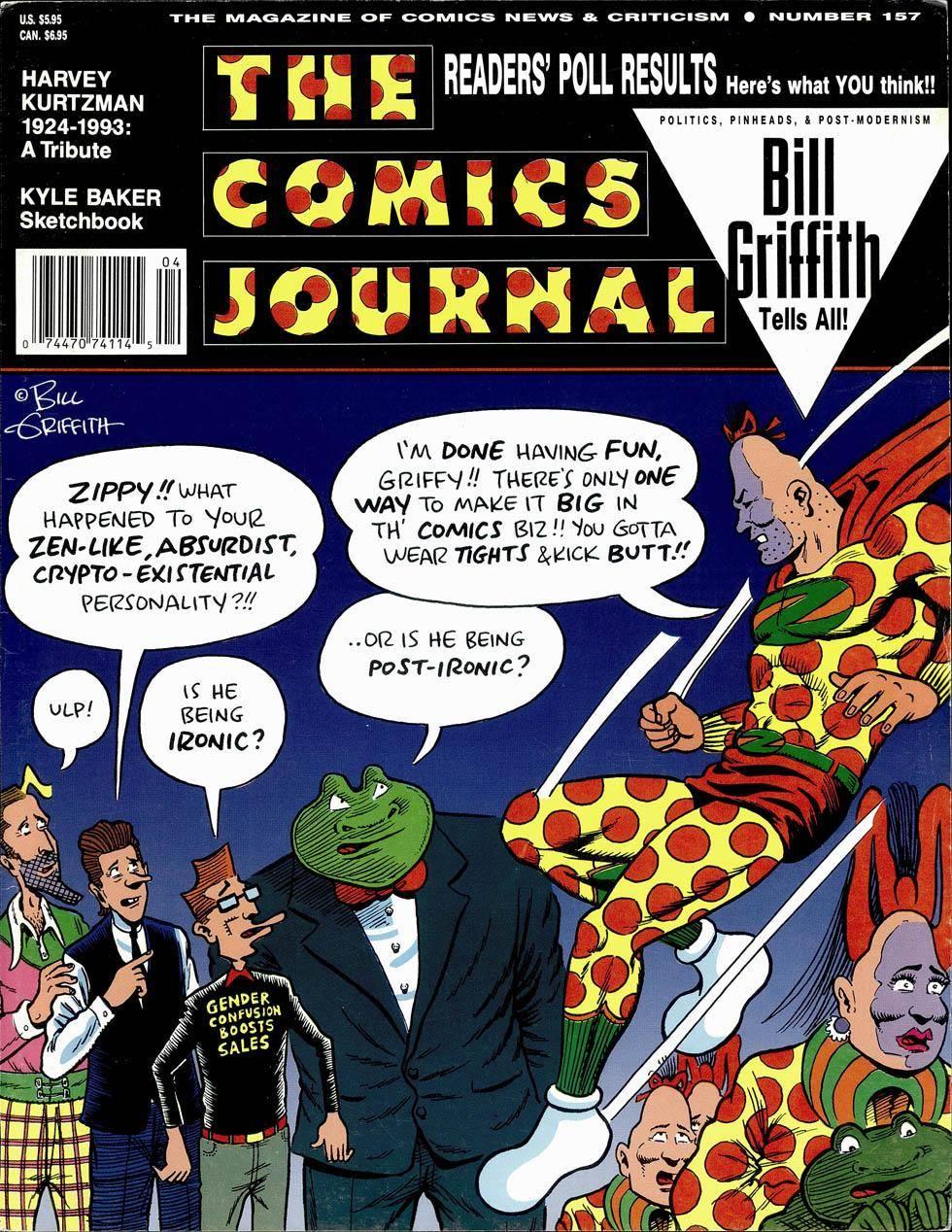 Comics Journal 157 March 1993