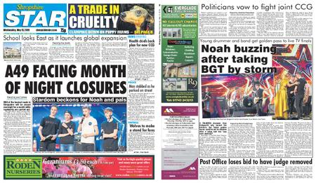 Shropshire Star Shrewsbury Edition – May 15, 2019