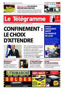 Le Télégramme Ouest Cornouaille – 30 janvier 2021
