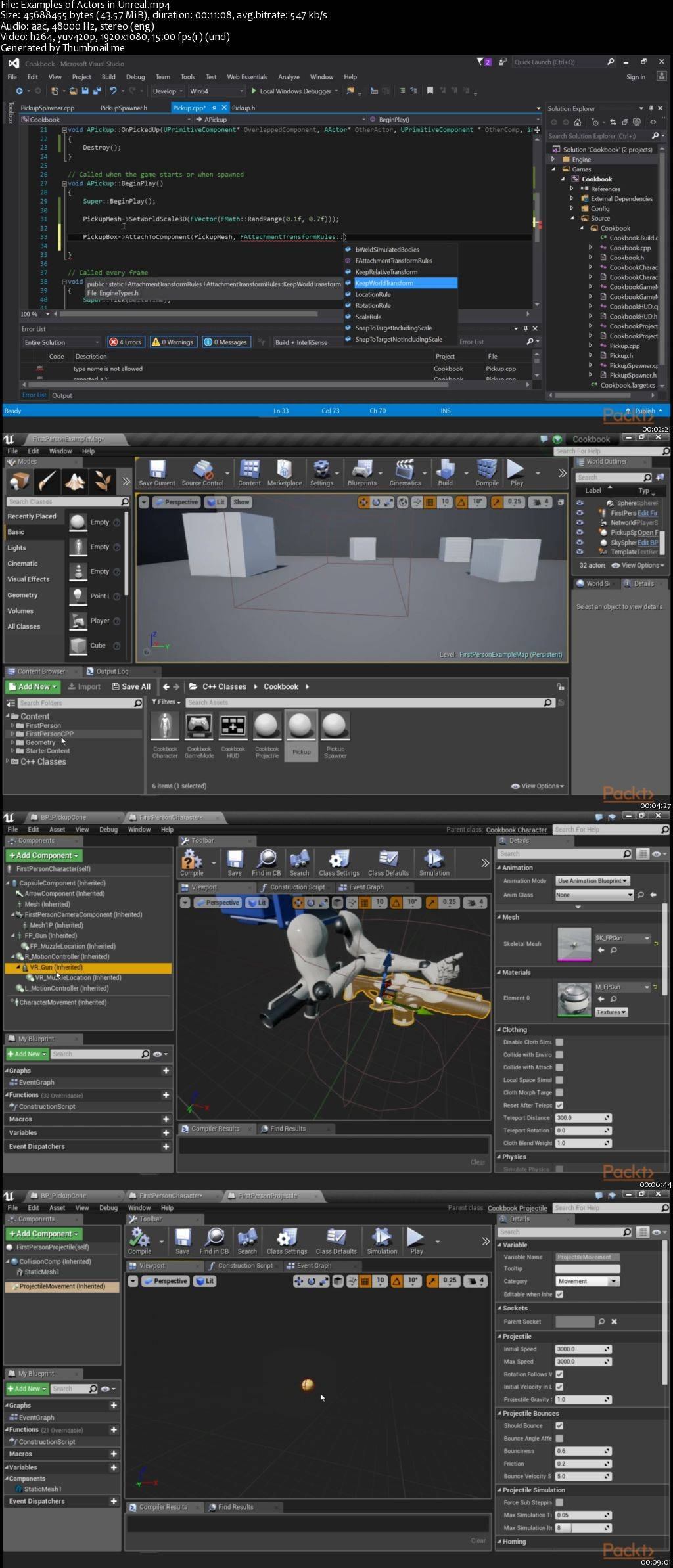 Unreal Engine 4 Scripting with C++ / AvaxHome