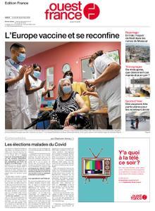 Ouest-France Édition France – 28 décembre 2020