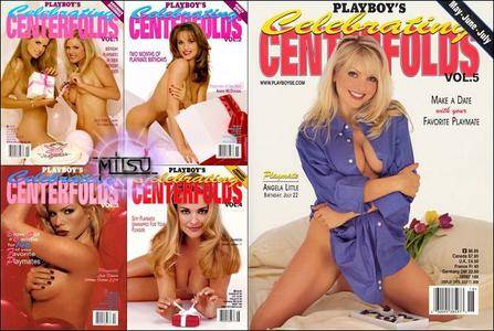 Playboy's Celebrating Centerfolds Vol.1 to 5 - All Issues Collection