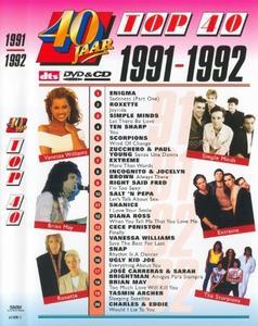 40 Jaar Top 40 1991-1992