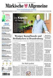 Neue Oranienburger Zeitung - 07. April 2018