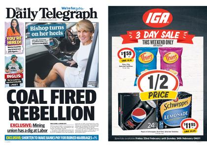 The Daily Telegraph (Sydney) – February 22, 2019