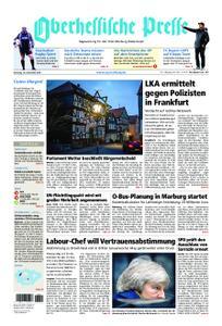 Oberhessische Presse Marburg/Ostkreis - 18. Dezember 2018