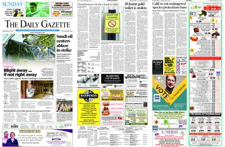 The Daily Gazette – September 15, 2019