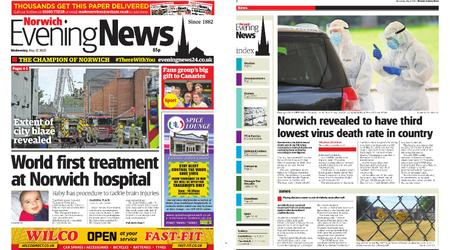 Norwich Evening News – May 27, 2020