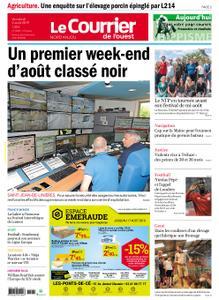 Le Courrier de l'Ouest Nord Anjou – 02 août 2019