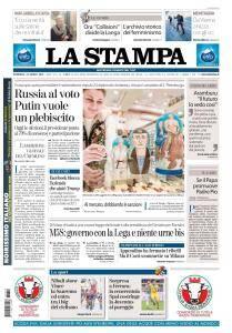 La Stampa Torino Provincia e Canavese - 18 Marzo 2018