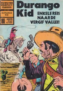Sheriff Classics - 193 - Durango Kid - Enkele Reis Naar De Vergif Vallei
