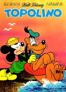 Topolino 1188 - Pippo & Gancio e le vacanze in economia (09-1978)