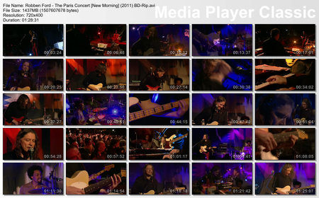 Robben Ford - The Paris Concert [New Morning] (2011)