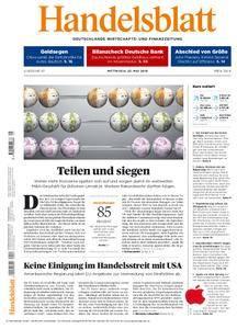 Handelsblatt - 23. Mai 2018