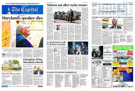 The Capital – April 08, 2019