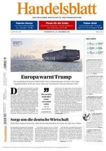 Handelsblatt - 20. Dezember 2018