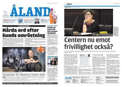Ålandstidningen – 10 april 2018