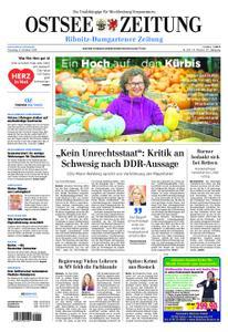 Ostsee Zeitung Ribnitz-Damgarten - 08. Oktober 2019