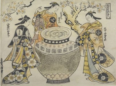 Ukiyo-e painters: The Art of Torii Kiyonobu I