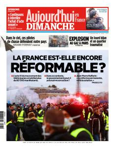 Aujourd'hui en France du Dimanche 13 Janvier 2019