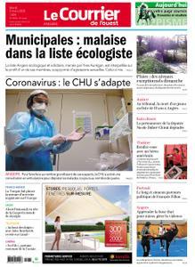 Le Courrier de l'Ouest Angers – 03 mars 2020