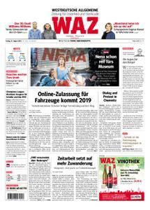 WAZ Westdeutsche Allgemeine Zeitung Oberhausen-Sterkrade - 31. August 2018