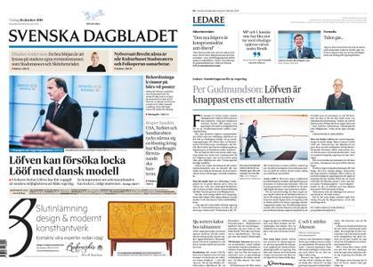 Svenska Dagbladet – 16 oktober 2018