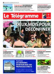 Le Télégramme Ouest Cornouaille – 30 avril 2021