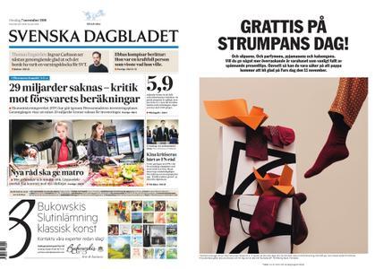 Svenska Dagbladet – 07 november 2018