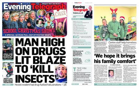 Evening Telegraph First Edition – December 21, 2018