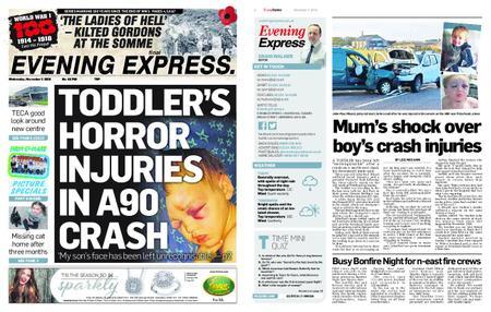 Evening Express – November 07, 2018