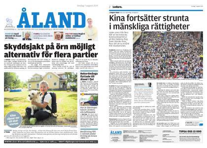 Ålandstidningen – 07 augusti 2019