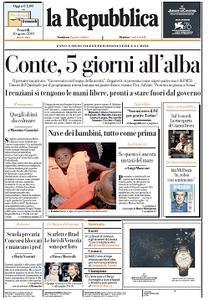 la Repubblica - 30 Agosto 2019