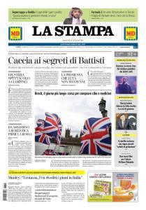 La Stampa Imperia e Sanremo - 15 Gennaio 2019