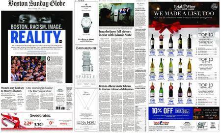 The Boston Globe – December 10, 2017