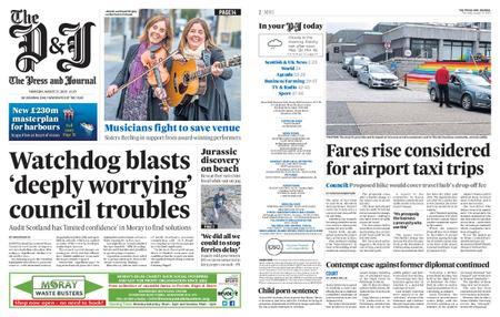 The Press and Journal Moray – August 27, 2020