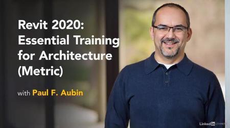 Revit 2020: Essential Training for Architecture (Metric)