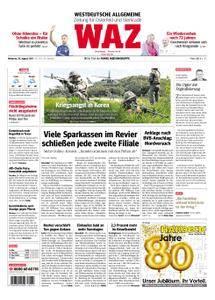 WAZ Westdeutsche Allgemeine Zeitung Oberhausen-Sterkrade - 30. August 2017