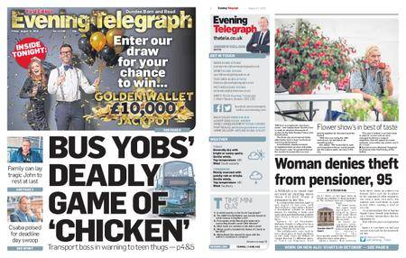 Evening Telegraph First Edition – August 31, 2018