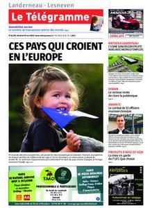 Le Télégramme Landerneau - Lesneven – 24 mai 2019